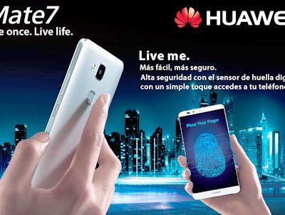 Huawei y Claro lanzan en el Perú el #Ascend #Mate7 4G LTE