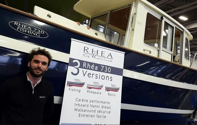 Salon Européen des Pêches - le Rhéa 730 Fishing se distingue