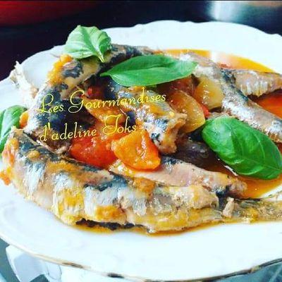 Sardine à la tomates et à l'huile d'olive