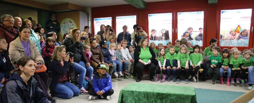 """""""Fit wie ein Turnschuh!"""" waren die Kleinen beim Frühlingsfest des Veitshöchheimer Kindergartens St. Martin"""