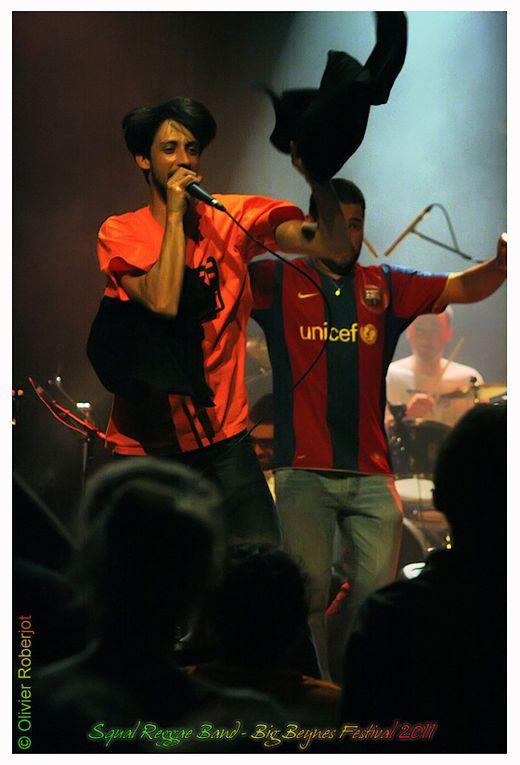 """L'association TURBULENCE organisait, samedi 30 avril 2011, à la Barbacane de Beynes (dans les Yvelines), le BIG BEYNES FESTIVAL 2011.     """"Après le succès du festival reggae en février dernier, l'association Turbulences remets les couverts avec l"""