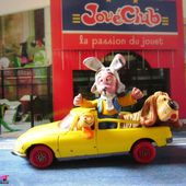 CITROEN DS PICKUP MAGIC ROUNDABOUT - POLLUX LE MANEGE ENCHANTE - CORGI 1/43 - car-collector.net