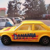 FORD ESCORT XR3 3 INCHES MINI JET NOREV - car-collector.net