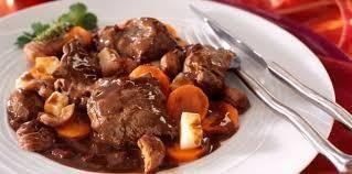 Chevreuil aux carottes et au cidre