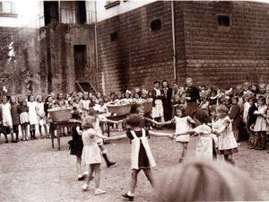 Année scolaire 1944 - 1945 avec Mme SCHUMACHER