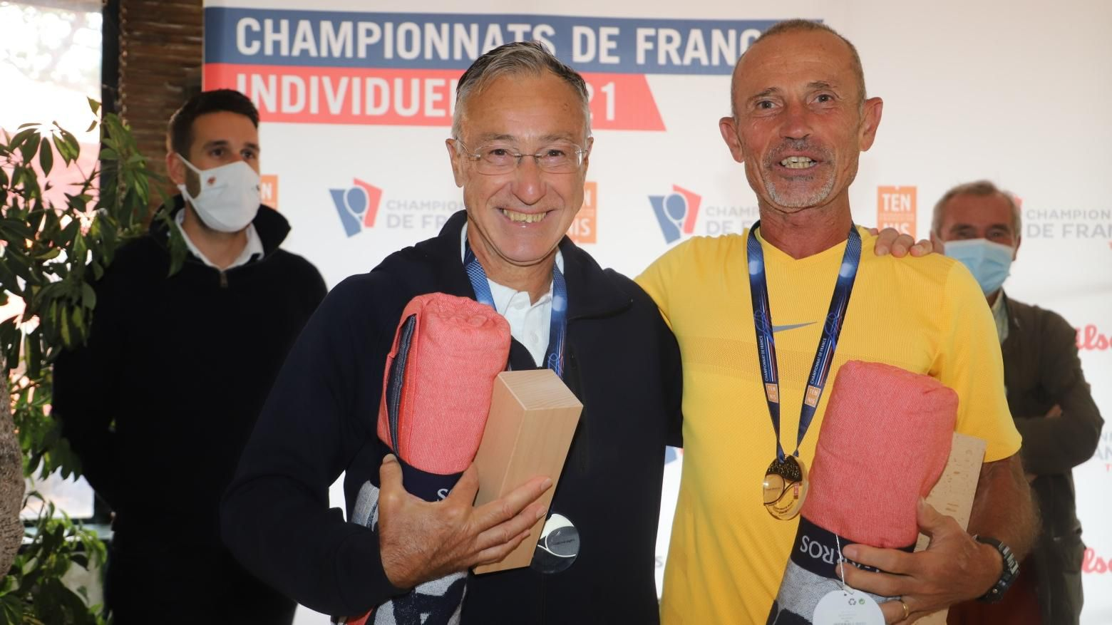Finale 65 ans messieurs Serge Gresy Olliver Lemal