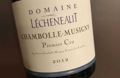 Chambolle-Musigny 1er cru 2012 Domaine Lécheneaut