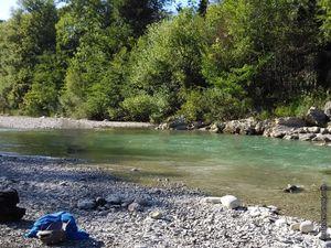 Quelques coins de baignade au bord de la Drôme...il y en a plein d'autres !