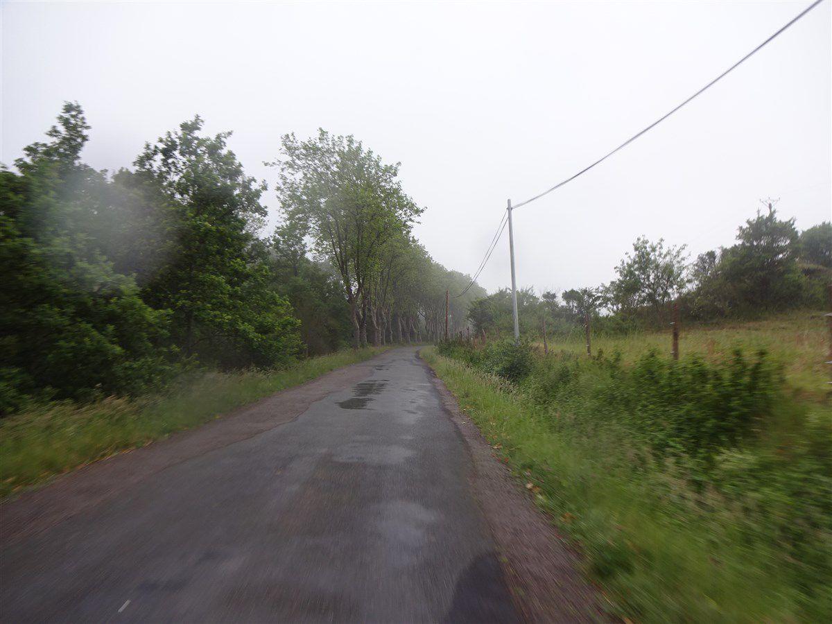 Jeudi 3 juin : Une grande virée sous la pluie