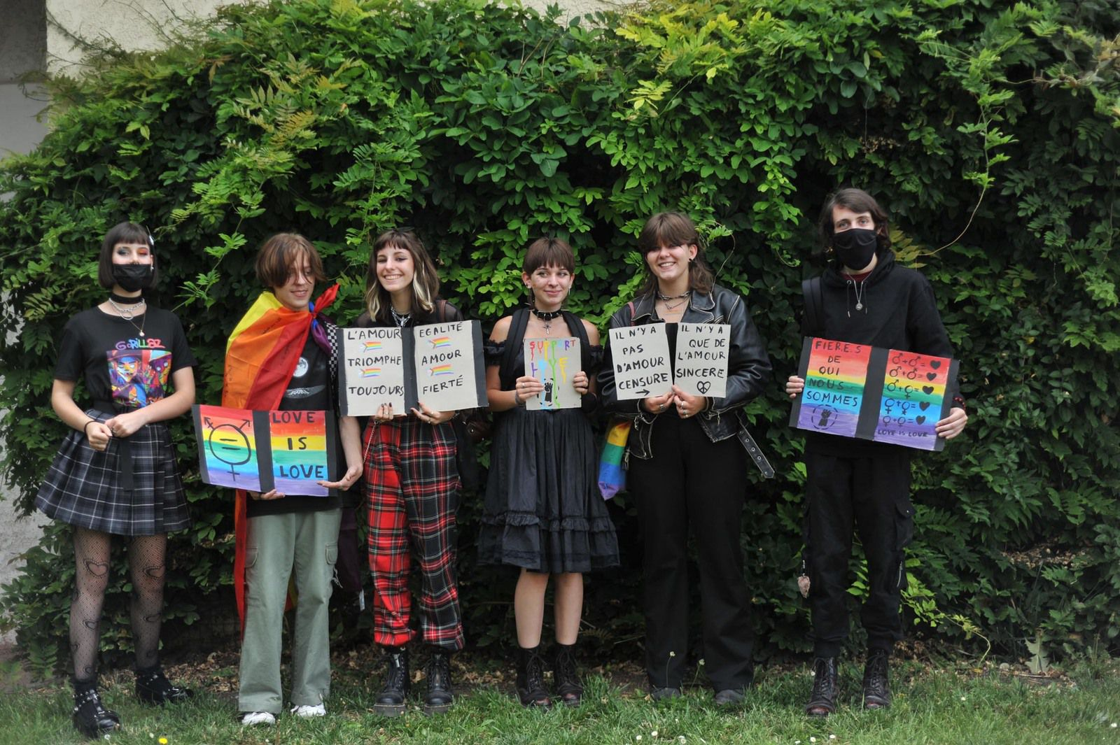 Quelques photos du Festival LGBT+ de Dieppe organisé par l'association God Savec the Queer