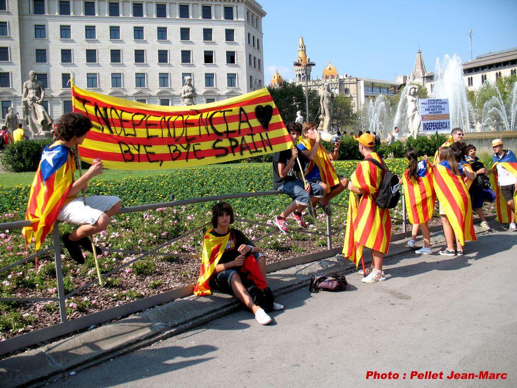 Le Parti de la Nation Occitane y était. Barcelone le 11 septembre 2012