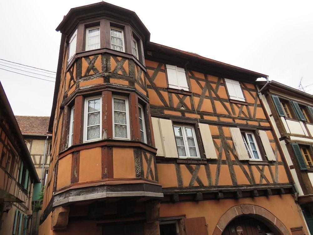 BOUXWILLER Village du nord de l'Alsace