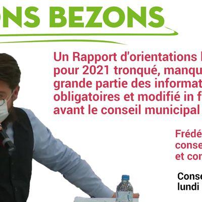 Débat d'orientations budgétaires à Bezons : déni de démocratie (2)