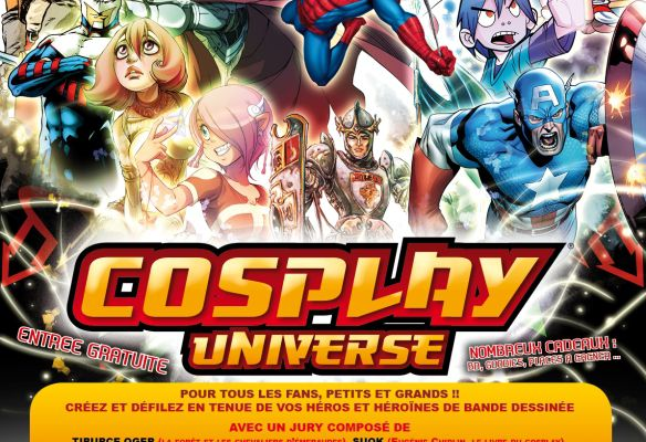 Concours Cosplay Universe d'Angoulême