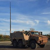 """La Direction générale de l'armement a qualifié la version """"poste de commandement"""" du blindé Griffon"""