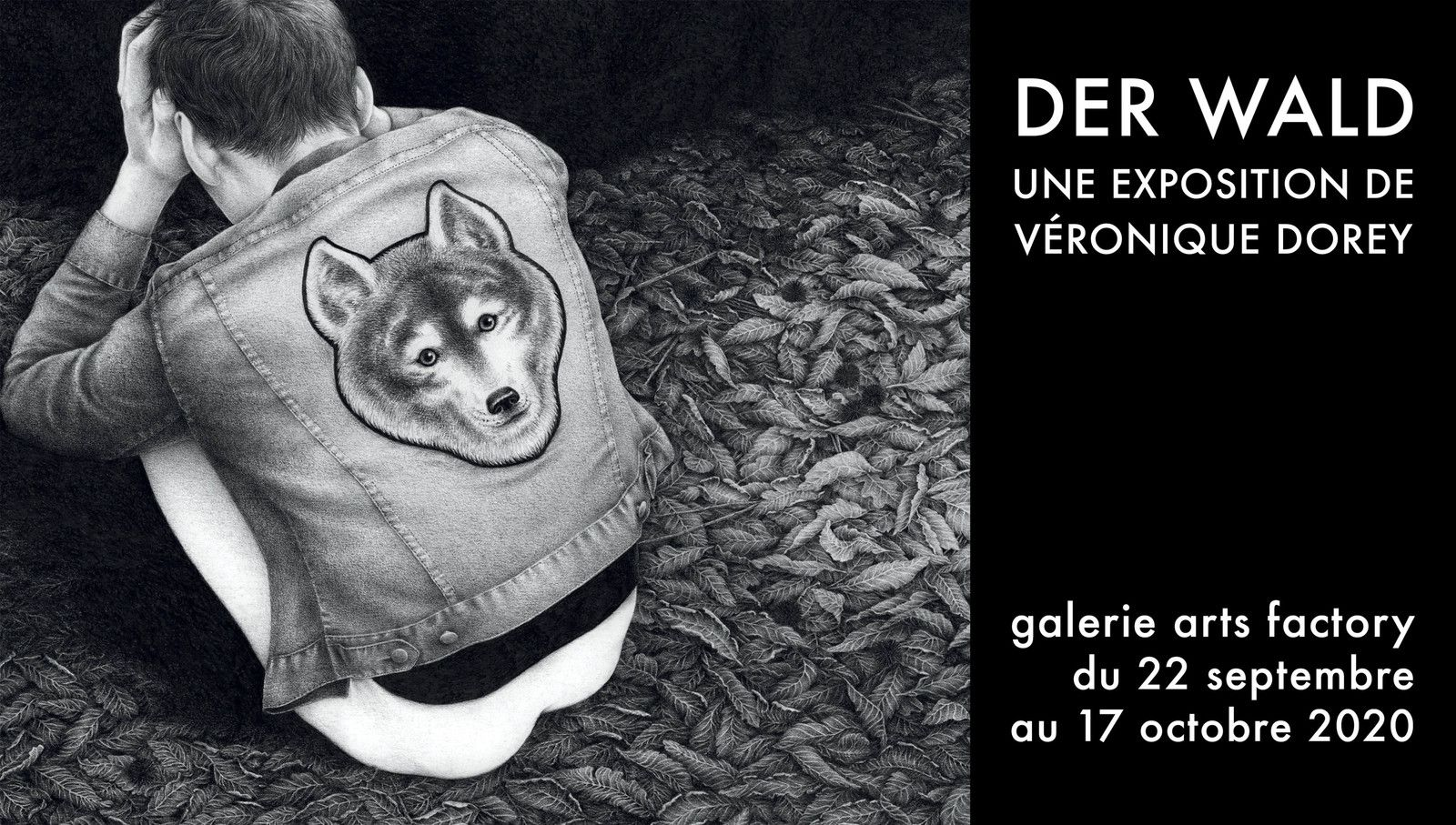 Exposition Illustration Contemporaine: Véronique DOREY  «Der Wald»