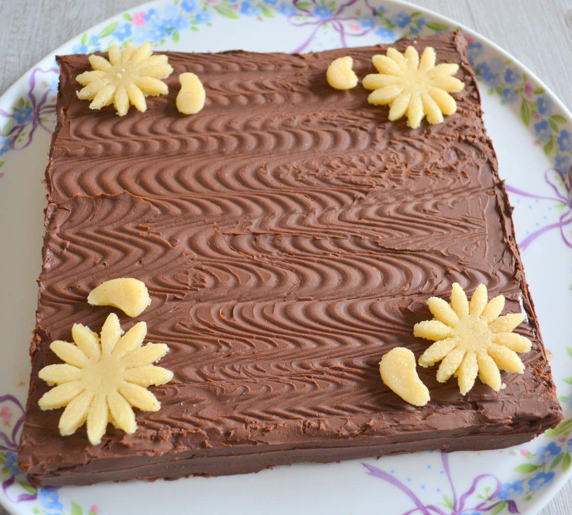 Gâteau au mascarpone et chocolat de Cyril Lignac