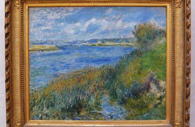 Pierre-Auguste Renoir, La Seine à Champrosay