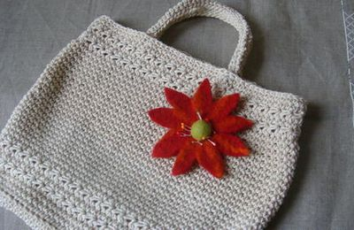 Crochet : Tote bag