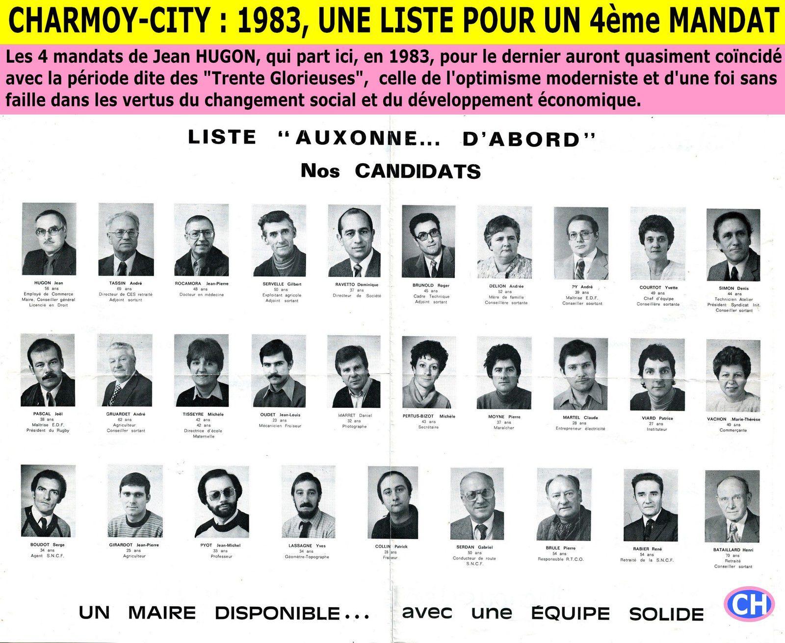 Charmoy-City, 1983, une liste pour un 4èmé mandat.jpg