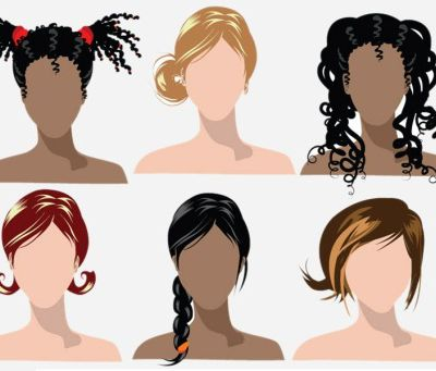 Different types of Hair Textures!