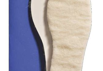 Semelles intérieures en laine véritable : Saphir Everest - Bama Wool - Tacco Polar (Laine) enfant