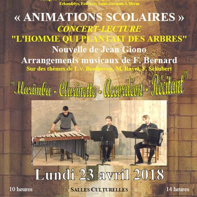 ANIMATIONS SCOLAIRES 2018