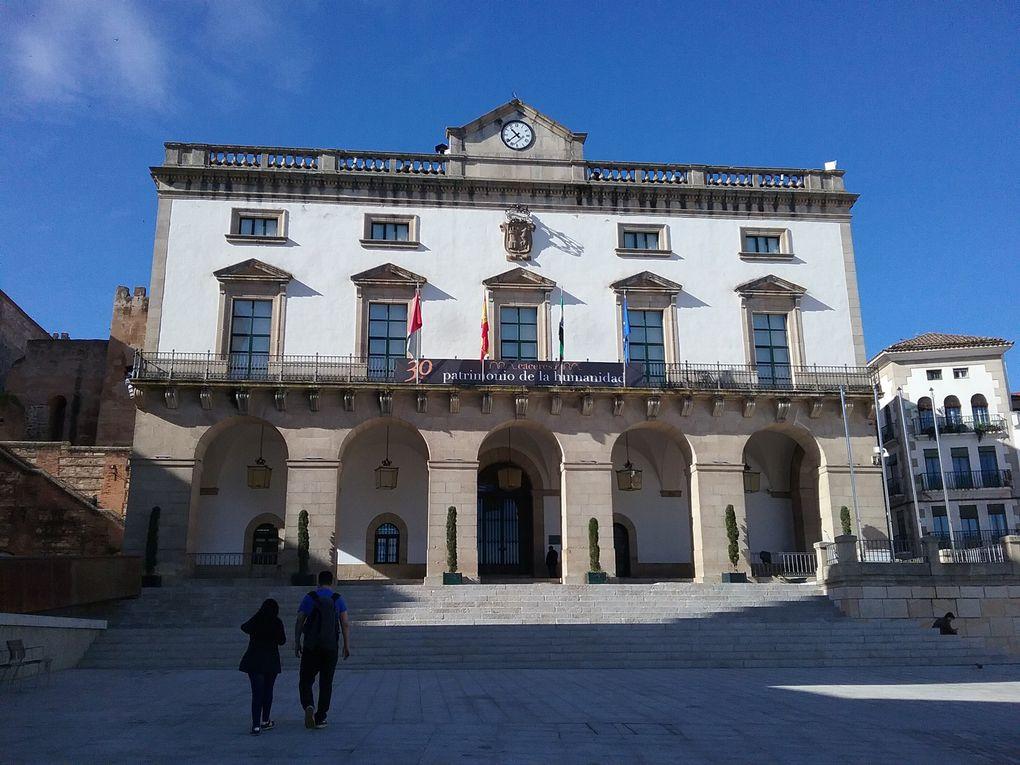 Photos des apprentis à Caceres ( Espagne)