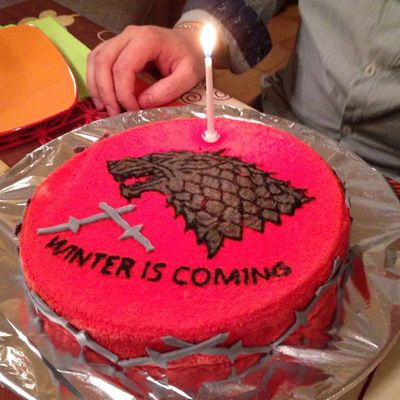 Gâteau Game of Thrones