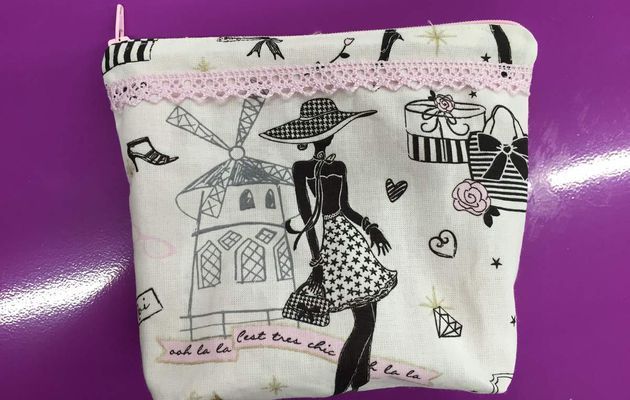 Tuto Trousse Girly - Couture DIY