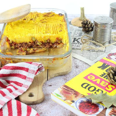 Cottage Pie d'Automne - Le Hachis Parmentier So British !