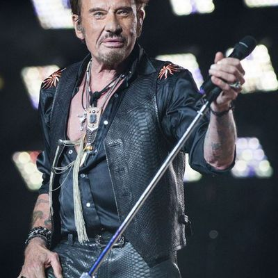 Johnny Hallyday Rock Attitude