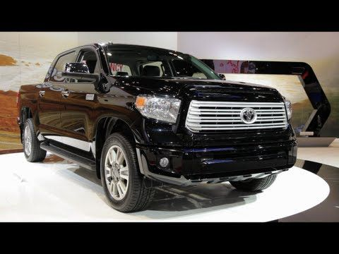 Toyota Tundra au Chicago Auto Show 2013