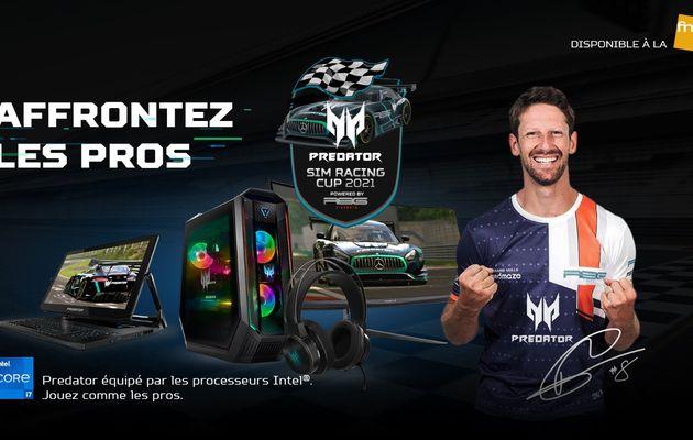 [ACTUALITE] Predator Sim Racing Cup 2021 - Lancement en partenariat avec Romain Grosjean