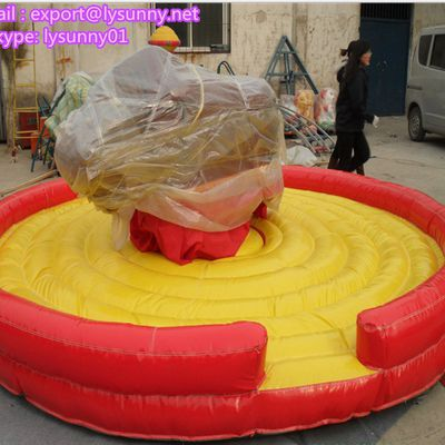 Inflatable Mechanical Bull Rides