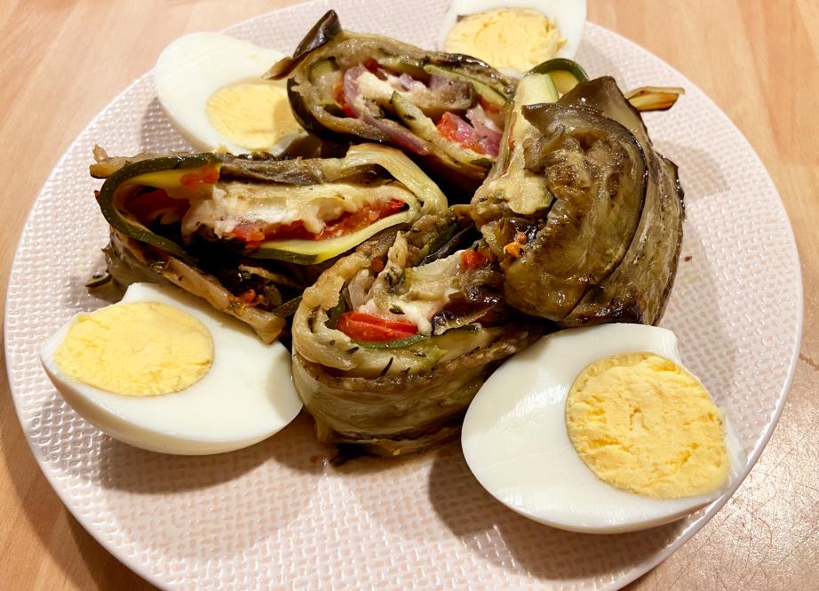Roulé de légumes façon Tian