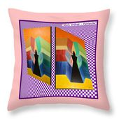 Shots Shifted - Patriarche Variant Throw Pillow for Sale by Michael Bellon