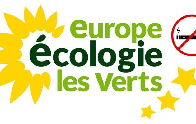 L'Europe Ecologie Les Verts ne soutient pas la vape