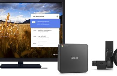 Travail collaboratif - Shared Meeting - Salles connectees - Google 'Chromebox for Meetings'