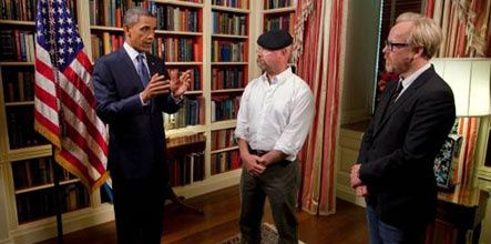 Mythbusters accueille Barack Obama sur Discovery Channel