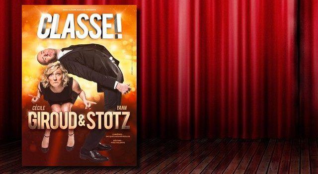 "Cécile Giroud & Yann Stotz dans ""Classe !"""