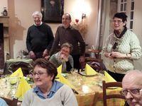 Rencontre de l'équipe au service du doyenné de la plaine et de la commauté des soeurs saint Joseph de Cluny qui est à Chamblanc - 16 mars 2015
