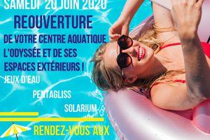 réouverture du Centre Aquatique Intercommunal à partir du 20 juin 2020