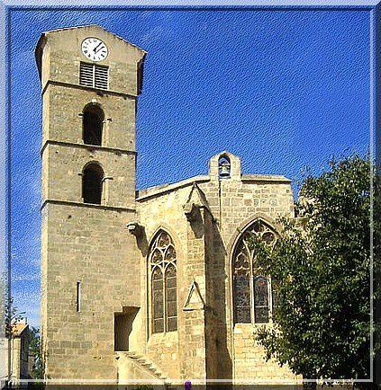 Diaporama église fortifiée de Coursan