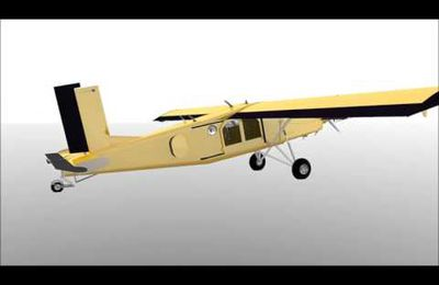 PC-6 first animated render