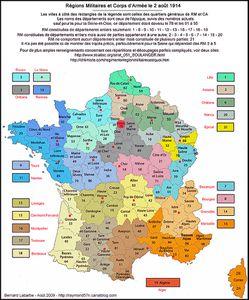 Région militaire du Nord (1914-1918) : aux origines...