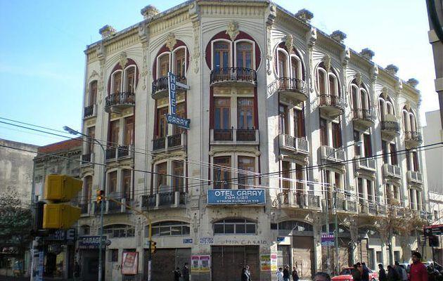 Hotel Garay 1908-1909 (Quartier de Balvanera - Buenos Aires)