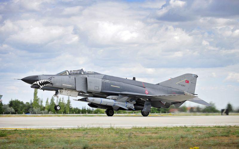 Deux RF-4E Phantom II de la Force Aérienne Turque se sont écrasés lors d'une mission d'entraînement