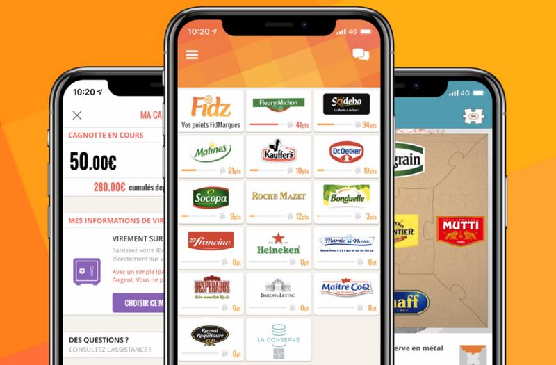 captures d'écran du site et de l'application smartphone FidMarques (tous droits réservés) @ Tests et Bons Plans