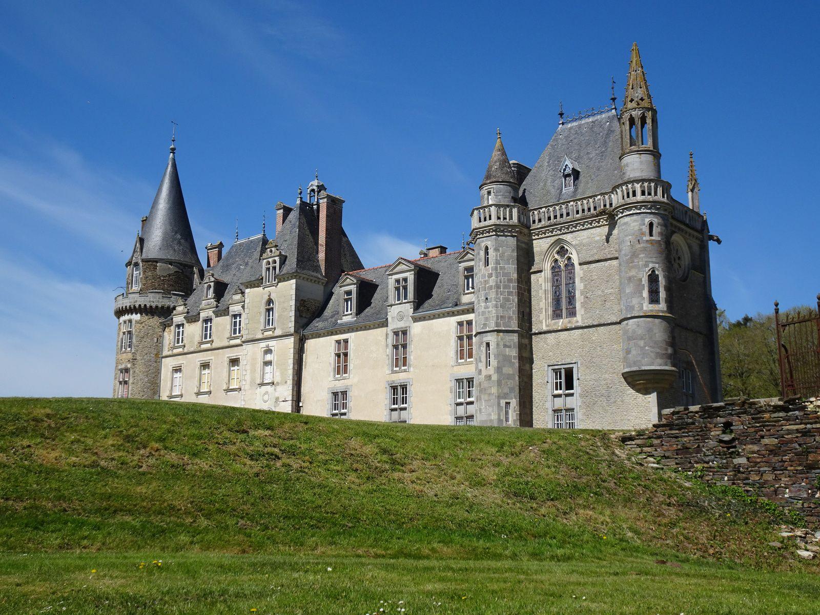 Boucle locale - Manoirs et Châteaux - 59,3 km